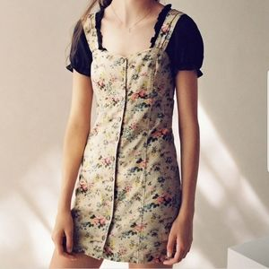 NWT UO x Laura Ashley Floral Button Up Mini Dress